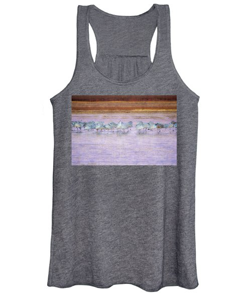 The Cranes Of Bosque Women's Tank Top