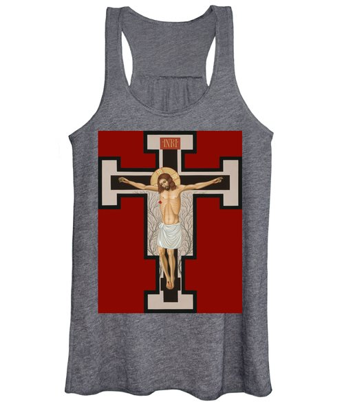 The Crucified Lord 017 Women's Tank Top