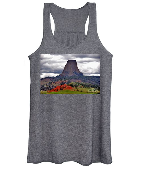The Devils Tower Wy Women's Tank Top