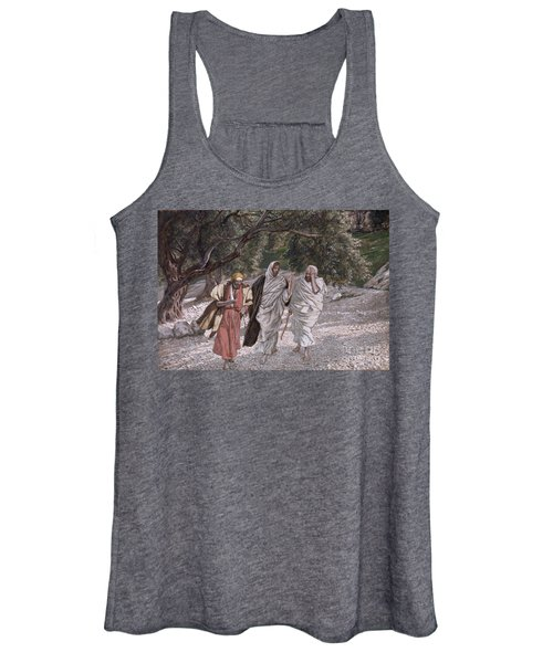 The Disciples On The Road To Emmaus Women's Tank Top