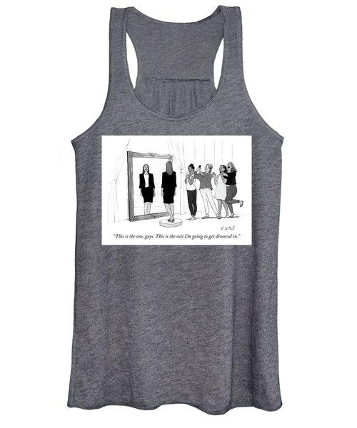 The Divorce Suit Women's Tank Top