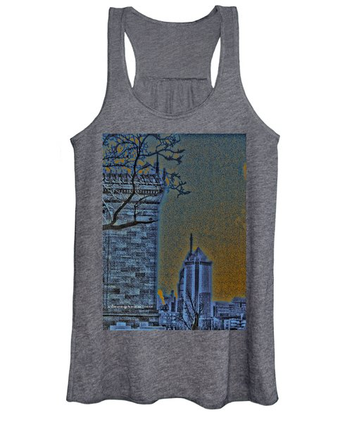 The Encroachment Upon Art Women's Tank Top
