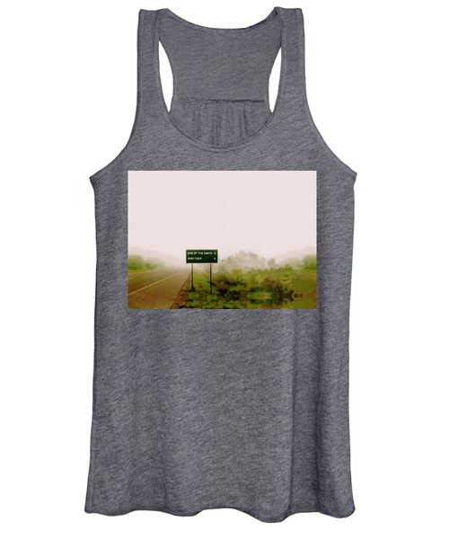 The End Of The Earth Women's Tank Top