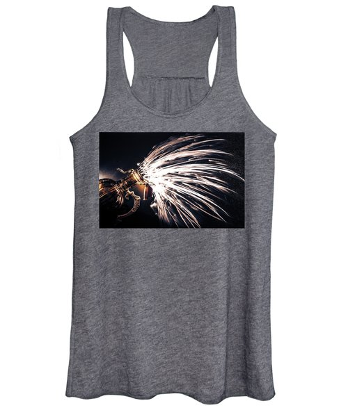 The Exploding Growler Women's Tank Top