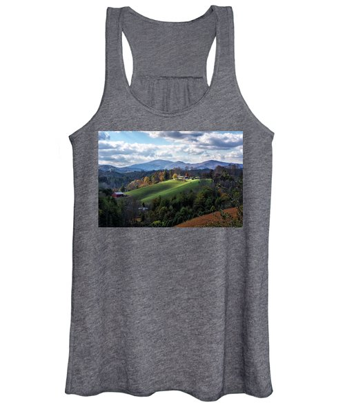 The Farm On The Hill Women's Tank Top
