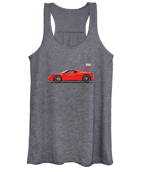 The Ferrari 458 Italia Women's Tank Top