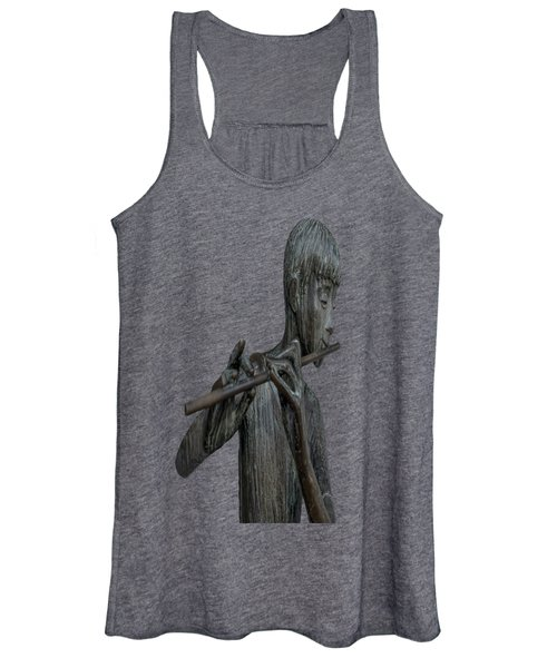 The Flute Player Women's Tank Top