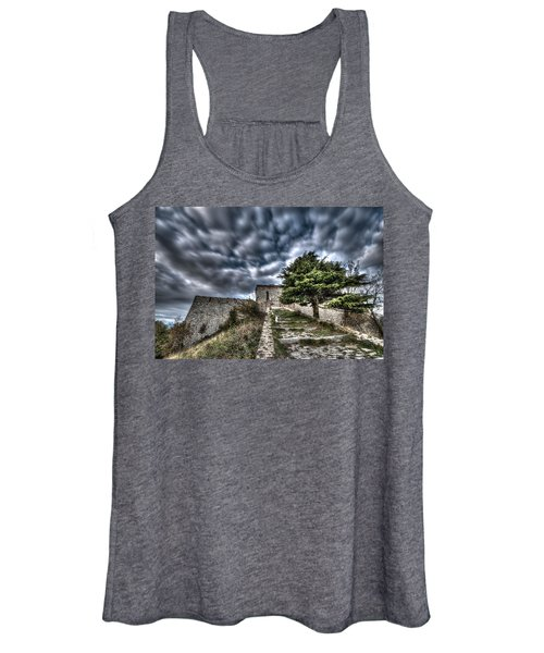The Fortress The Tree The Clouds Women's Tank Top