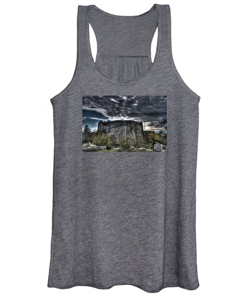 The Fortress The Trees The Clouds Women's Tank Top