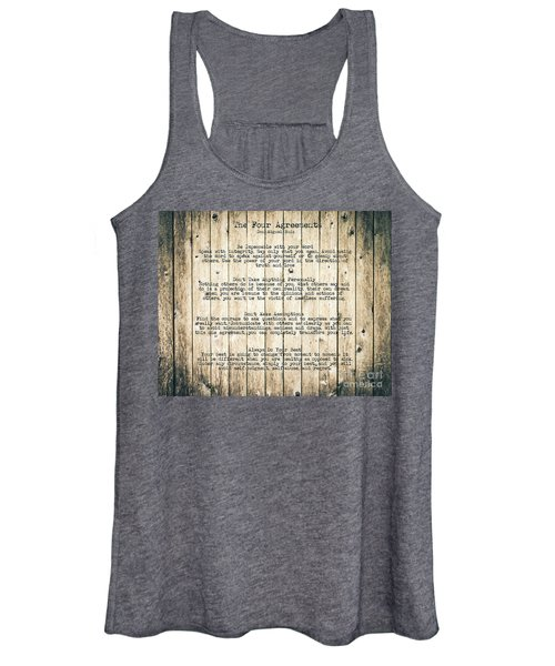 The Four Agreements 8 Women's Tank Top