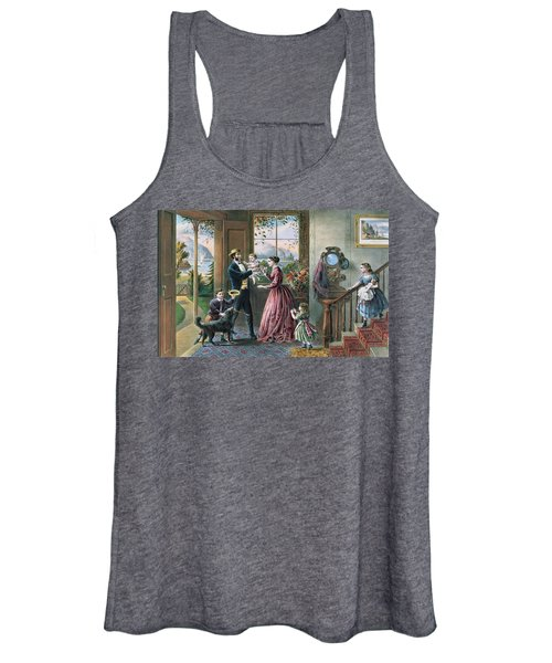 The Four Seasons Of Life  Middle Age Women's Tank Top