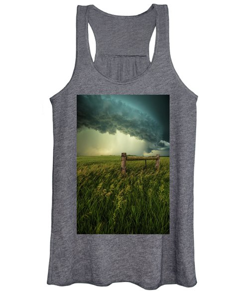 The Frayed Ends Of Sanity  Women's Tank Top