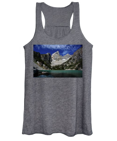 The Grand And Mount Owen From Delta Lake Women's Tank Top