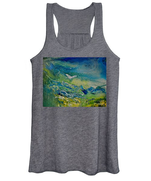 The Heavens And The Eart Women's Tank Top