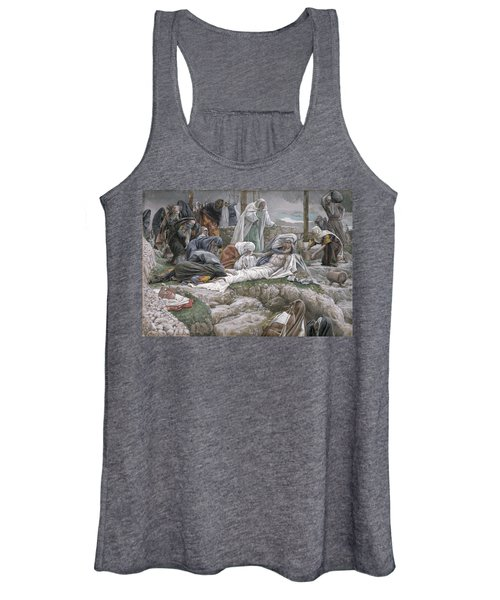 The Holy Virgin Receives The Body Of Jesus Women's Tank Top