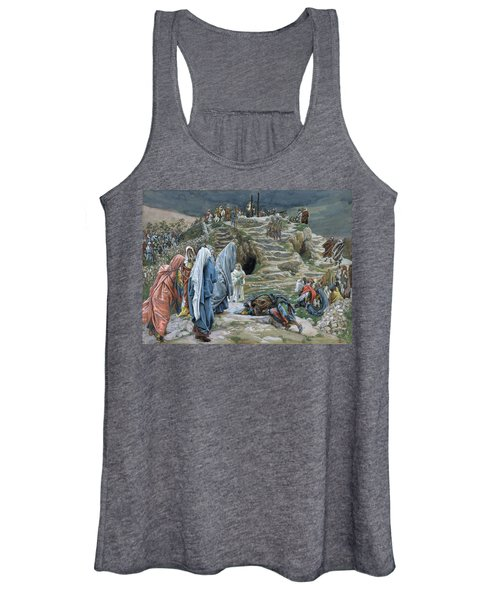 The Holy Women Stand Far Off Beholding What Is Done Women's Tank Top