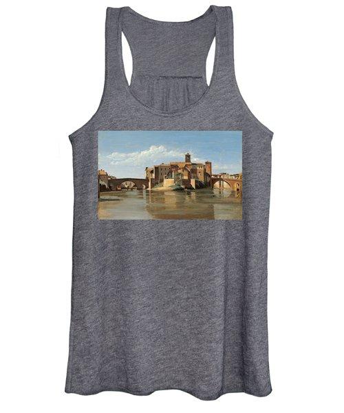 The Island And Bridge Of San Bartolomeo Women's Tank Top