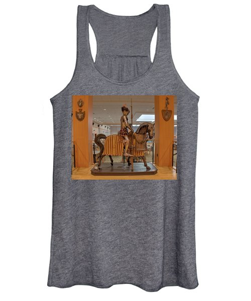 The Knight On Horseback Women's Tank Top