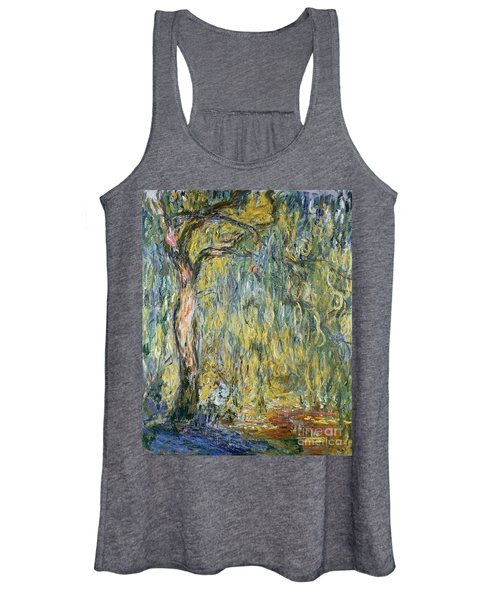 The Large Willow At Giverny Women's Tank Top