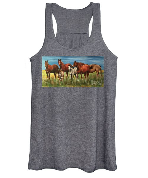 The Leader Of The Pack Women's Tank Top