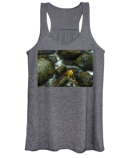 The Leaf Signed Women's Tank Top