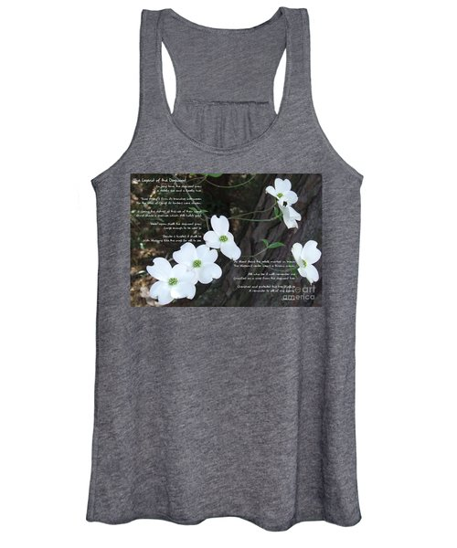The Legend Of The Dogwood Women's Tank Top