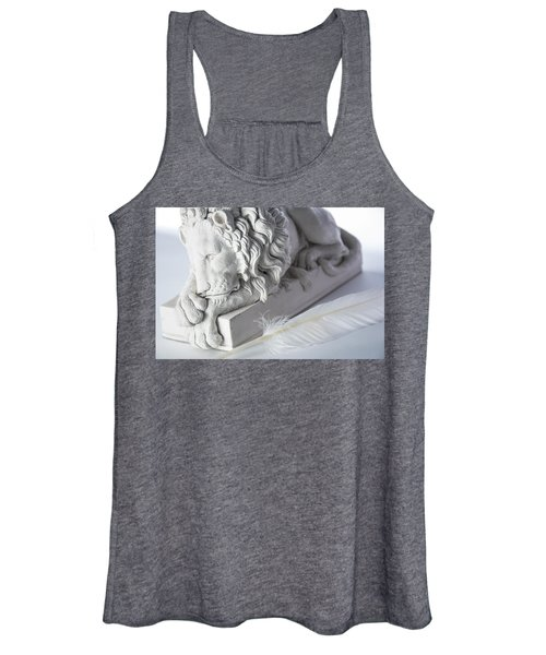 The Lion And The Feather Women's Tank Top
