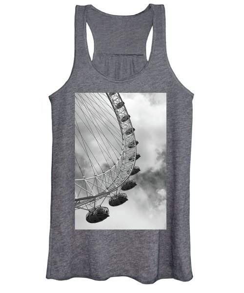 The London Eye, London, England Women's Tank Top