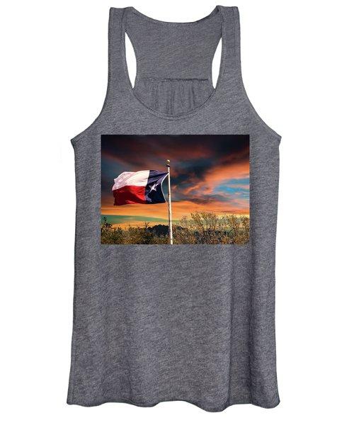 The Lone Star Flag Women's Tank Top