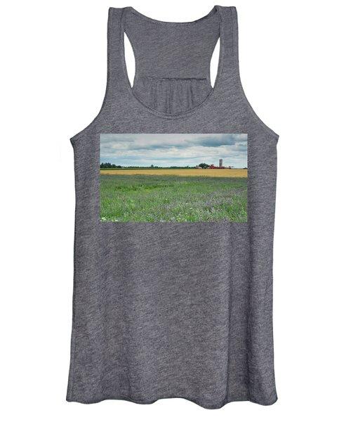 Farming Landscape Women's Tank Top