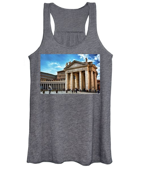 The Majesty Of The Tuscan Colonnades Women's Tank Top