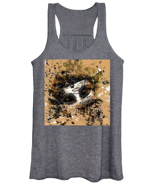 The Mask Of Fiction Women's Tank Top