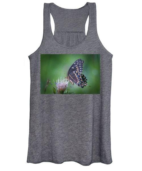 The Mattamuskeet Butterfly Women's Tank Top