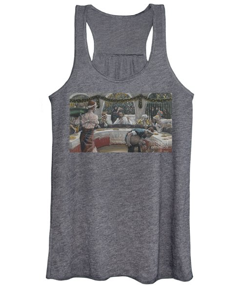 The Meal In The House Of The Pharisee Women's Tank Top