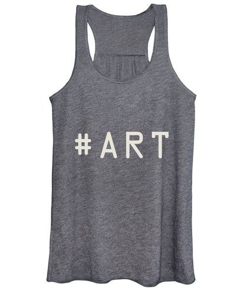 The Meaning Of Art - Hashtag Women's Tank Top