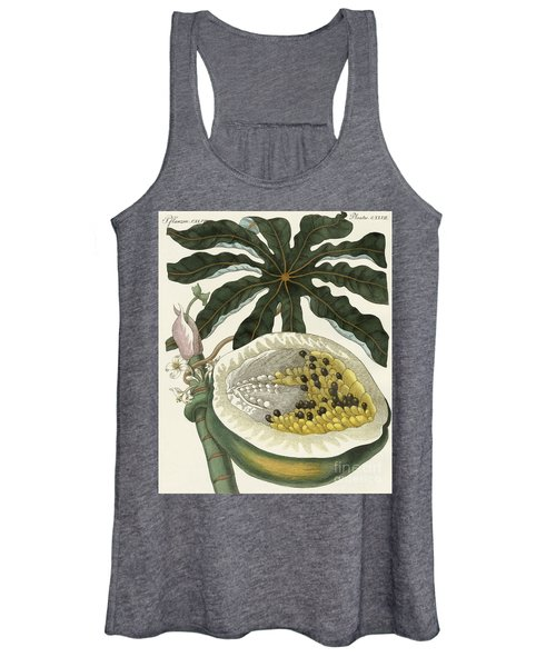 The Melon Or Papaya Tree Women's Tank Top