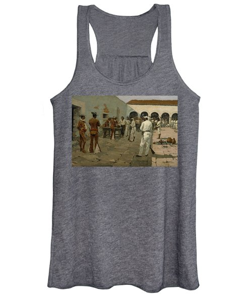 The Mier Expedition The Drawing Of The Black Bean  Women's Tank Top