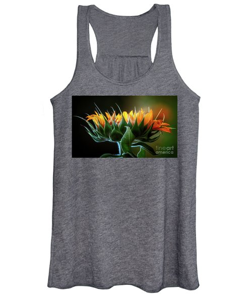 The Mighty Sunflower Women's Tank Top