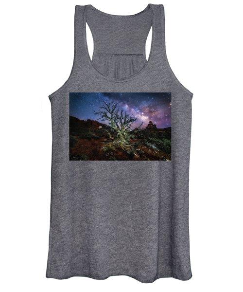 The Milky Way Tree Women's Tank Top