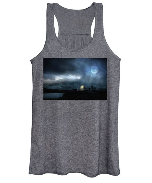 The Moon Touches Your Shoulder Women's Tank Top