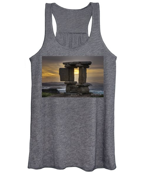 The Mystical Open Door To The Ocean Women's Tank Top