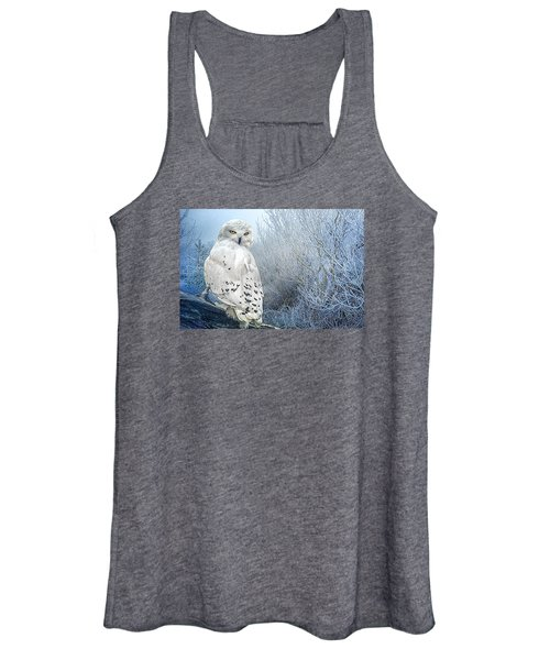 The Mystical Snowy Owl Women's Tank Top