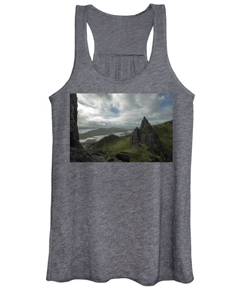 The Old Man Of Storr Women's Tank Top