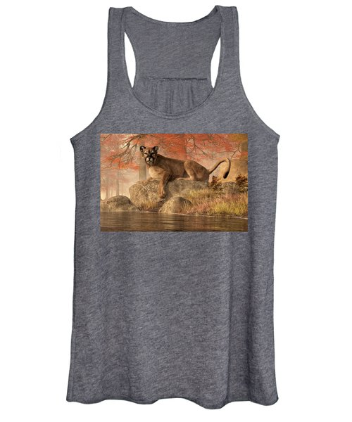 The Old Mountain Lion Women's Tank Top