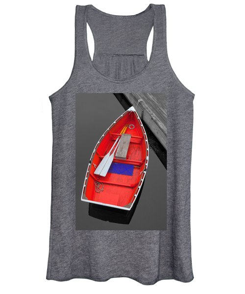 The Old Red Lobster Boat  Women's Tank Top