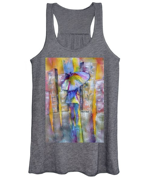 The Other Girl In The City Women's Tank Top