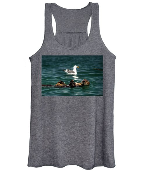 The Otter And The Mooch 3 Women's Tank Top
