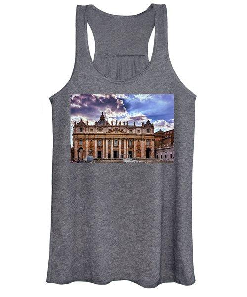 The Papal Basilica Of Saint Peter Women's Tank Top