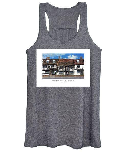 The Paper Boy - East Grinstead Women's Tank Top