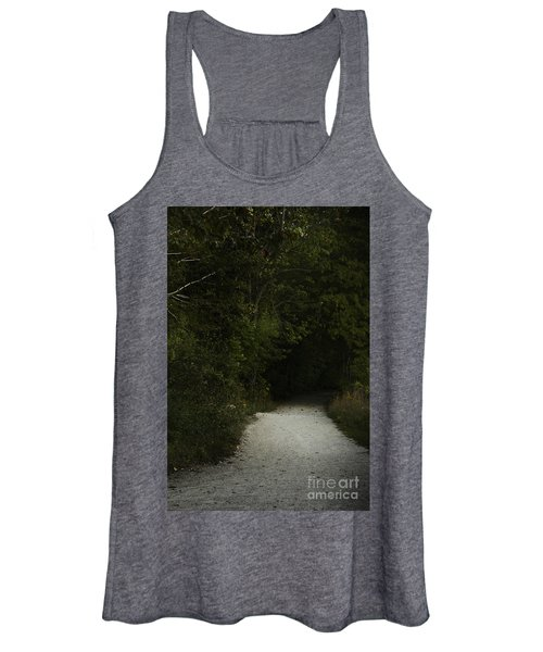 The Path In The Darkness Women's Tank Top